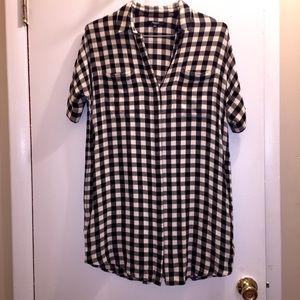Madewell Button Up Dress